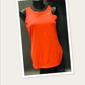 Nike Orange Muscle Top